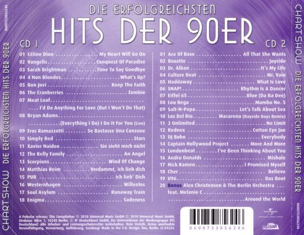 erfolgreichste single 90er deutschland