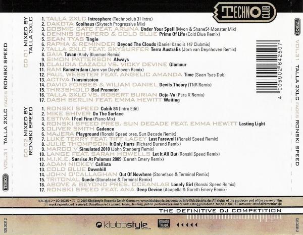 Talla 2XLC In Touch With Rank 1 - Techno Club Vol. 28