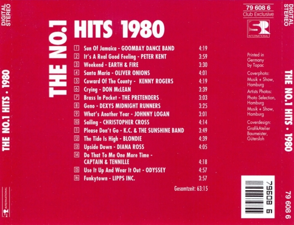 The No 1 Hits