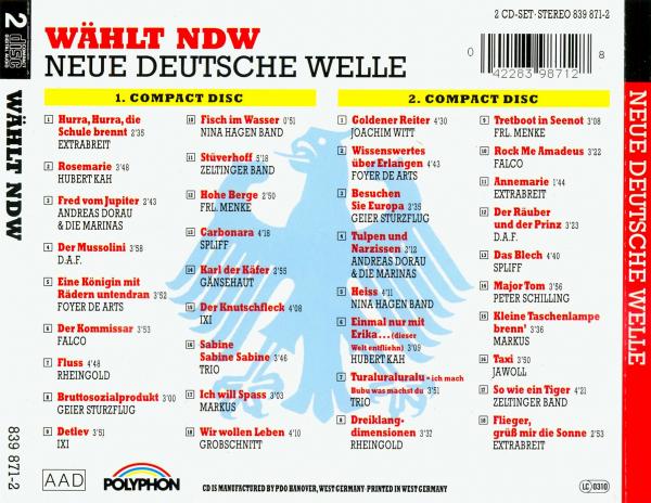 Ndw for Die neue deutsche welle