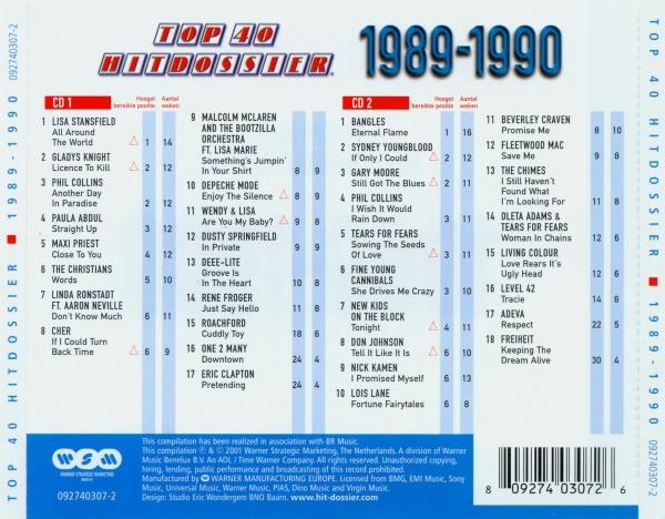 Various - 40 Jaar Top 40 - 1985-1986